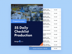 5S Daily Checklist Production